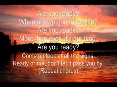 Are You Ready (lyrics)