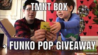 TMNT Box Unboxing + Funko Pop Giveaway!