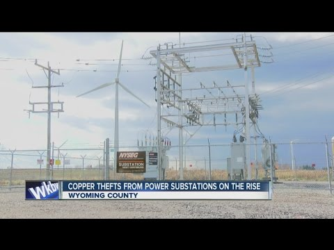 Copper thefts from power substations on the rise