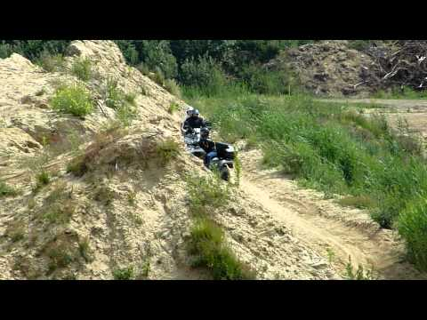 QUAD / ATV / KYMCO  MXU 500 DX  und  KYMCO  MXU 500 IRS  OFFROAD   12 JUNI  2011