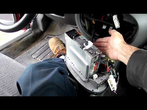Ford Escort Radio Removal