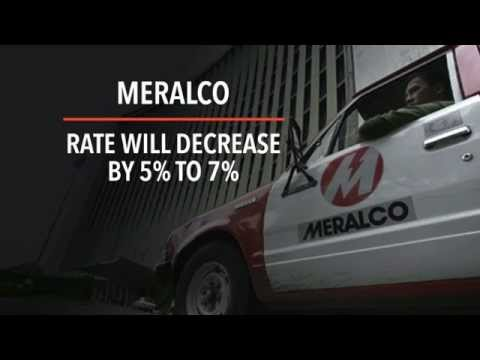Meralco's power rates to decrease July