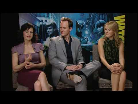 Watchmen: Carla Gugino, Patrick Wilson and Malin Akerman