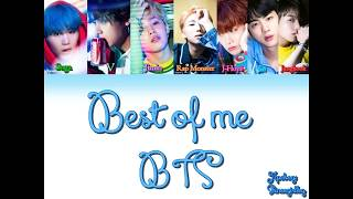 BTS- Best of me (Bulgarian colorcoded translation)