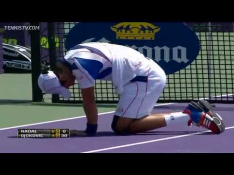 2011 Sony Ericsson Open Miami - ATP Final Highlights - Nadal v Djokovic
