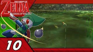 The Legend of Zelda: Ocarina of Time 3D #10- Something's Biting