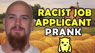 Racist Job Appl