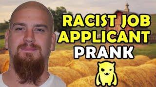 Racist Job Applicant Prank - Ownage Pranks