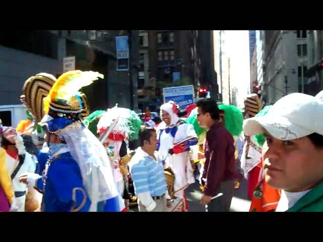 San Antonio Mihuacan Precente En El Carnaval De New York 2009!!!!