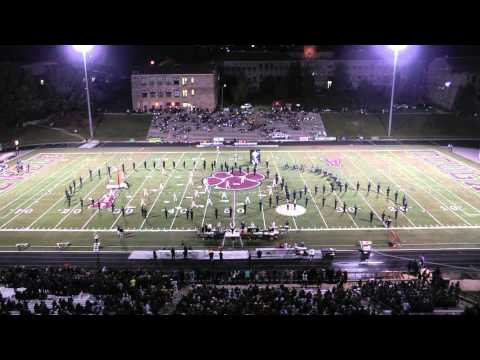 2014 10 03 Asheville High School Marching Band Night Circus