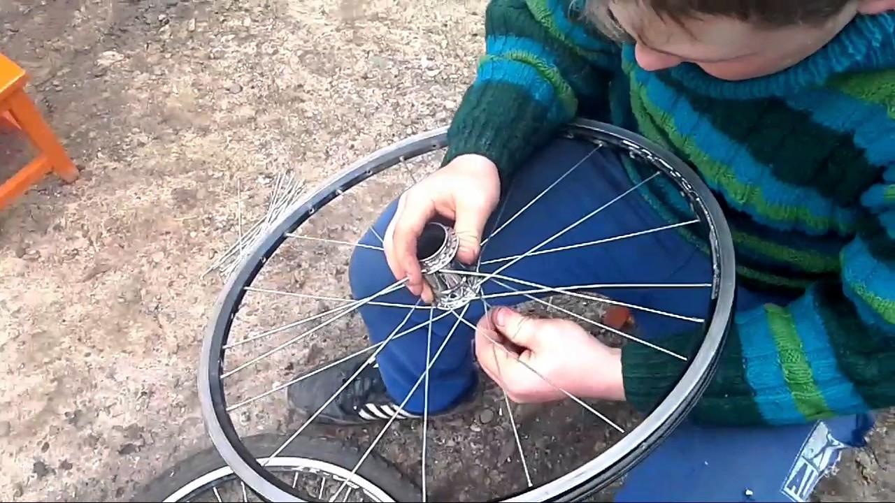 Чинить велосипед своими руками