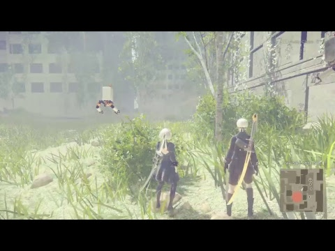 Nier game play