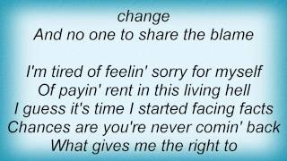 Watch Josh Gracin No One To Share The Blame video