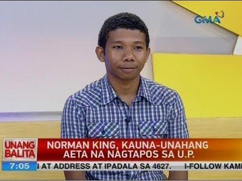 UB: Panayam kay Norman King, first Aeta U.P. graduate