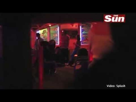 Rihanna And Friend sings Don't Speak And Sex On Fire At Karaoke video