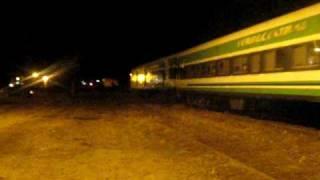 video Pasada por la ciudad de Marcos Juárez, del tren nº 269