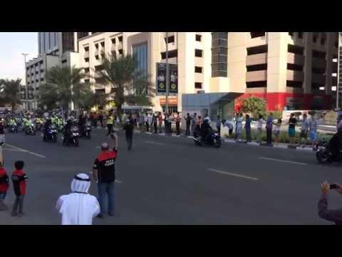 Gulf Bike Week 2014 - Dubai Media City