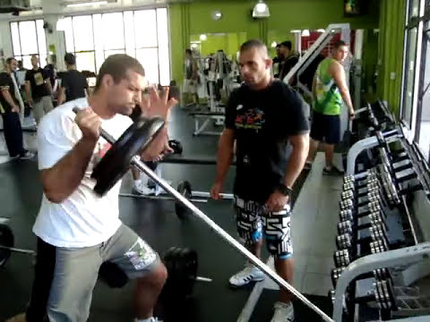 Mauricio Shogun -  workout - coach Neumann