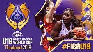 Spain v Japan - Full Game - FIBA U19 Women's Basketball World Cup 2019