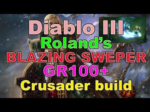 Roland's Blazing Sweeper GR100+ Crusader Build for Diablo 3 (2.6.1)