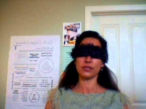 Dorinda Lugo Performing My Daily Declarations Blindfolded