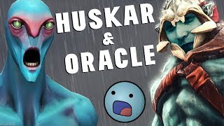 HUSKAR & ORACLE ONE PUSH (SingSing Dota 2 Highlights #1377)