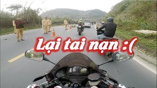 Pass Thung Khe Pass crash accident - Motovlog CBR600