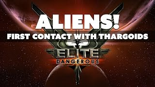 FIRST ALIEN CONTACT! Thargoids Discovered in Elite Dangerous - The Know Game News