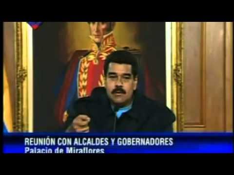 Cruce de palabras entre Smolansky y Maduro