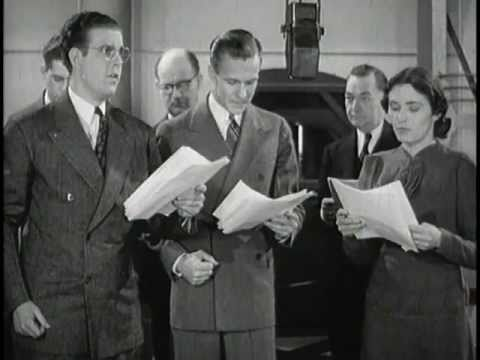 Amazing Short Film On Old Time Radio Sound Effects: back Of The Mike (1938) video