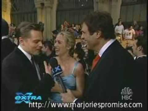 Leonardo DiCaprio & Kate Winslet at the SAG