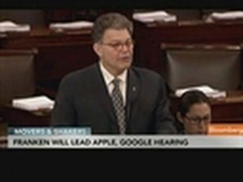 Franken to Lead Grilling of Apple, Google Over Tracking
