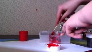 Как сделать искуственную кровь - ViYoutube