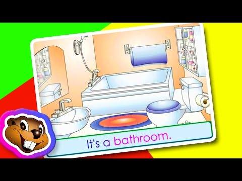 Rooms in the Home - English Kindgarten Education - YouTube