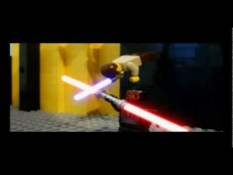 Lego star wars - Darth maul vs Qui gon & Obi wan