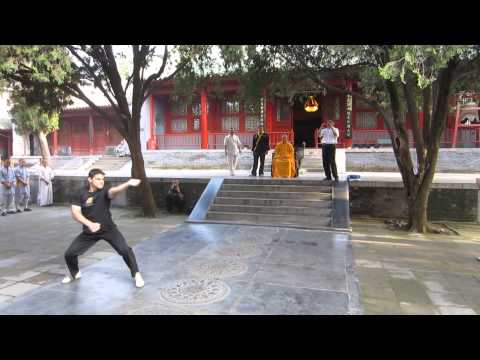 Potomac Kempo Performs for Abbot of Shaolin Temple