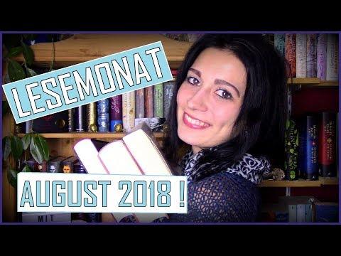 LESEMONAT   August 2018 // Zwischen Lesen, Hören, Highlights und Flops