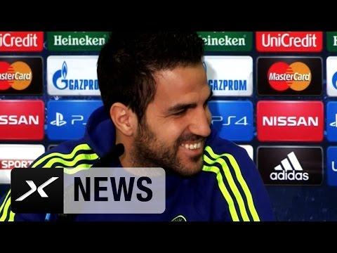 Chelsea-Star Cesc Fabregas veräppelt Dolmetscher | FC Chelsea - Paris Saint-Germain