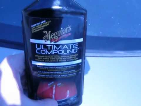 Meguiar's Ultimate Compound Review