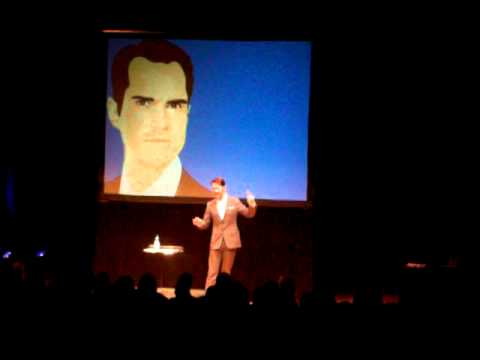 Jimmy Carr catches me filming him
