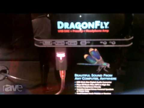 CEDIA 2013: Audio Quest Details the DragonFly USB Digital to Analog Converter