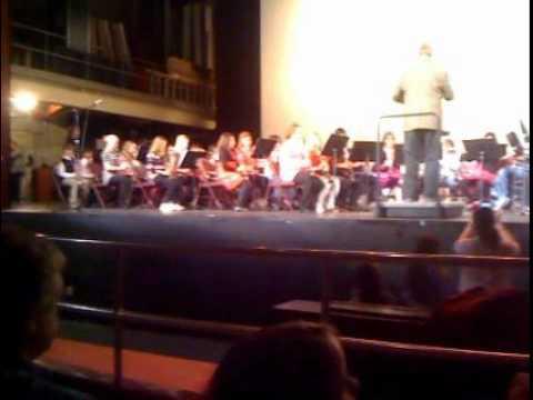 Kori Lynn's Band Concert February 9, 2012 Moline Senior High School