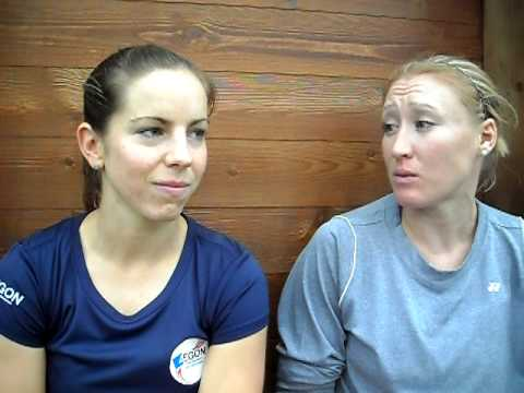 Elena Baltacha and Katie O'Brien discuss Fed Cup