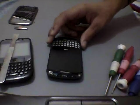 como cambiar el Trackpad Sensor Blackberry 8520 9300