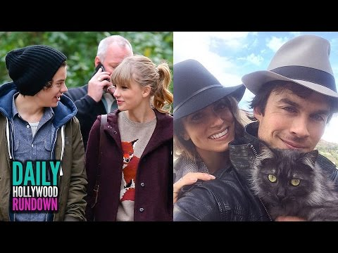Taylor Swift's AWKWARD Moment With Harry - Ian Somerhalder and Nikki Reed Engaged?! (DHR)