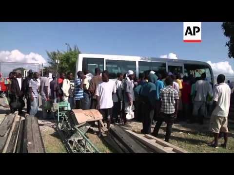 Haiti receives about 300 people repatriated from the Bahamas