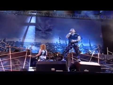 Iron Maiden - Run To The Hills Rock In Rio Live