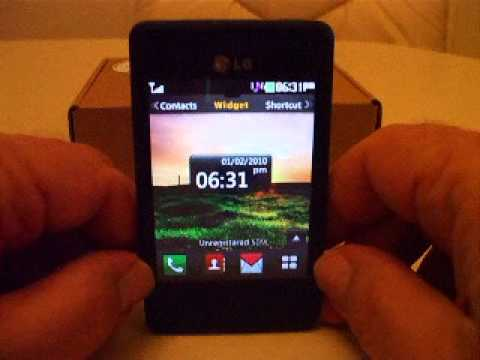 LG840G TracFone Unboxing and Power Up