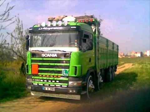 scAnıA kamyonlar bakta gÖr