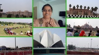 FAMOUS PLACES IN DELHI||TRAVEL VLOGS||RAMA SWEET HOME